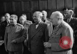 Image of Harry Truman Potsdam Germany, 1945, second 33 stock footage video 65675052717