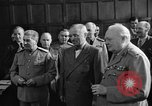 Image of Harry Truman Potsdam Germany, 1945, second 34 stock footage video 65675052717
