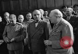 Image of Harry Truman Potsdam Germany, 1945, second 36 stock footage video 65675052717