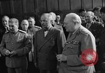 Image of Harry Truman Potsdam Germany, 1945, second 38 stock footage video 65675052717