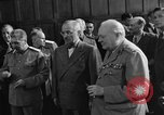 Image of Harry Truman Potsdam Germany, 1945, second 39 stock footage video 65675052717