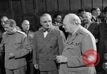 Image of Harry Truman Potsdam Germany, 1945, second 42 stock footage video 65675052717