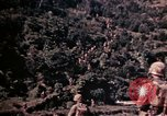 Image of 1st and 2nd Marine Battalions Okinawa Ryukyu Islands, 1945, second 16 stock footage video 65675052761