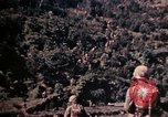 Image of 1st and 2nd Marine Battalions Okinawa Ryukyu Islands, 1945, second 17 stock footage video 65675052761