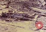 Image of dead bodies of Japanese soldiers Okinawa Ryukyu Islands, 1945, second 19 stock footage video 65675052819