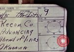 Image of Marine Reconnaissance company Okinawa Ryukyu Islands, 1945, second 5 stock footage video 65675052860