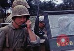 Image of Marine Reconnaissance company Okinawa Ryukyu Islands, 1945, second 32 stock footage video 65675052860