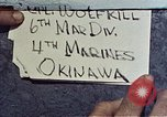 Image of 6th Marine Division 4th Marines Okinawa Ryukyu Islands, 1945, second 1 stock footage video 65675052862