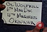 Image of 6th Marine Division 4th Marines Okinawa Ryukyu Islands, 1945, second 3 stock footage video 65675052862