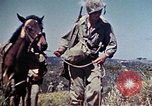 Image of 6th Marine Division 4th Marines Okinawa Ryukyu Islands, 1945, second 12 stock footage video 65675052862