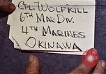 Image of 1st Battalion 4th Marines Okinawa Ryukyu Islands, 1945, second 1 stock footage video 65675052864