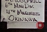 Image of 1st Battalion 4th Marines Okinawa Ryukyu Islands, 1945, second 4 stock footage video 65675052864