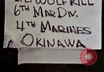 Image of 1st Battalion 4th Marines Okinawa Ryukyu Islands, 1945, second 5 stock footage video 65675052864
