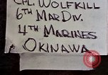 Image of 1st Battalion 4th Marines Okinawa Ryukyu Islands, 1945, second 6 stock footage video 65675052864