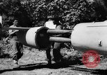 Image of Japanese suicide bomb rocket Okinawa Ryukyu Islands, 1945, second 14 stock footage video 65675052931