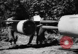 Image of Japanese suicide bomb rocket Okinawa Ryukyu Islands, 1945, second 15 stock footage video 65675052931