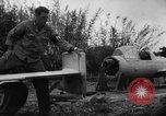 Image of Japanese suicide bomb rocket Okinawa Ryukyu Islands, 1945, second 43 stock footage video 65675052931