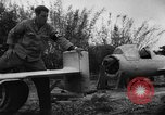 Image of Japanese suicide bomb rocket Okinawa Ryukyu Islands, 1945, second 45 stock footage video 65675052931