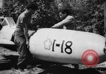 Image of Japanese suicide bomb rocket Okinawa Ryukyu Islands, 1945, second 51 stock footage video 65675052931