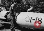 Image of Japanese suicide bomb rocket Okinawa Ryukyu Islands, 1945, second 52 stock footage video 65675052931