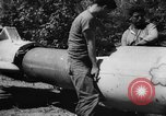 Image of Japanese suicide bomb rocket Okinawa Ryukyu Islands, 1945, second 53 stock footage video 65675052931