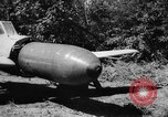 Image of Japanese suicide bomb rocket Okinawa Ryukyu Islands, 1945, second 57 stock footage video 65675052931