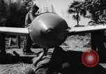 Image of Japanese suicide bomb rocket Okinawa Ryukyu Islands, 1945, second 59 stock footage video 65675052931