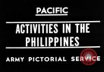 Image of 63rd Regiment Manila Philippines, 1945, second 2 stock footage video 65675052938