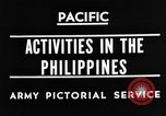 Image of 63rd Regiment Manila Philippines, 1945, second 7 stock footage video 65675052938