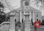 Image of old Coral Church Honolulu Hawaii USA, 1919, second 16 stock footage video 65675052979