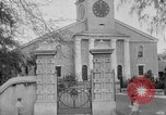 Image of old Coral Church Honolulu Hawaii USA, 1919, second 17 stock footage video 65675052979
