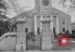 Image of old Coral Church Honolulu Hawaii USA, 1919, second 18 stock footage video 65675052979