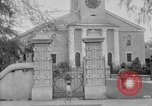 Image of old Coral Church Honolulu Hawaii USA, 1919, second 19 stock footage video 65675052979