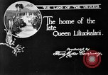 Image of old Coral Church Honolulu Hawaii USA, 1919, second 27 stock footage video 65675052979