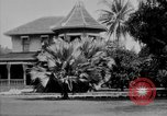 Image of old Coral Church Honolulu Hawaii USA, 1919, second 30 stock footage video 65675052979