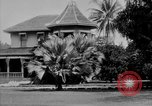 Image of old Coral Church Honolulu Hawaii USA, 1919, second 33 stock footage video 65675052979