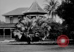 Image of old Coral Church Honolulu Hawaii USA, 1919, second 34 stock footage video 65675052979