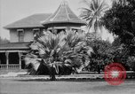 Image of old Coral Church Honolulu Hawaii USA, 1919, second 37 stock footage video 65675052979