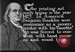 Image of portrait of Benjamin Franklin United States USA, 1926, second 20 stock footage video 65675052983
