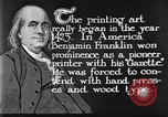 Image of portrait of Benjamin Franklin United States USA, 1926, second 23 stock footage video 65675052983