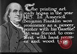 Image of portrait of Benjamin Franklin United States USA, 1926, second 24 stock footage video 65675052983