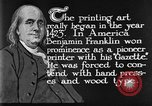 Image of portrait of Benjamin Franklin United States USA, 1926, second 25 stock footage video 65675052983