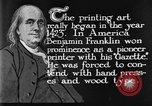 Image of portrait of Benjamin Franklin United States USA, 1926, second 28 stock footage video 65675052983