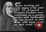 Image of portrait of Benjamin Franklin United States USA, 1926, second 30 stock footage video 65675052983