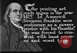 Image of portrait of Benjamin Franklin United States USA, 1926, second 32 stock footage video 65675052983