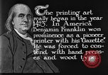Image of portrait of Benjamin Franklin United States USA, 1926, second 33 stock footage video 65675052983