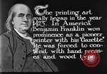Image of portrait of Benjamin Franklin United States USA, 1926, second 34 stock footage video 65675052983