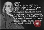Image of portrait of Benjamin Franklin United States USA, 1926, second 37 stock footage video 65675052983