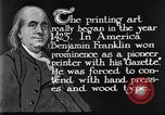 Image of portrait of Benjamin Franklin United States USA, 1926, second 38 stock footage video 65675052983