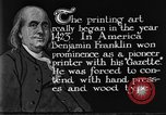 Image of portrait of Benjamin Franklin United States USA, 1926, second 40 stock footage video 65675052983
